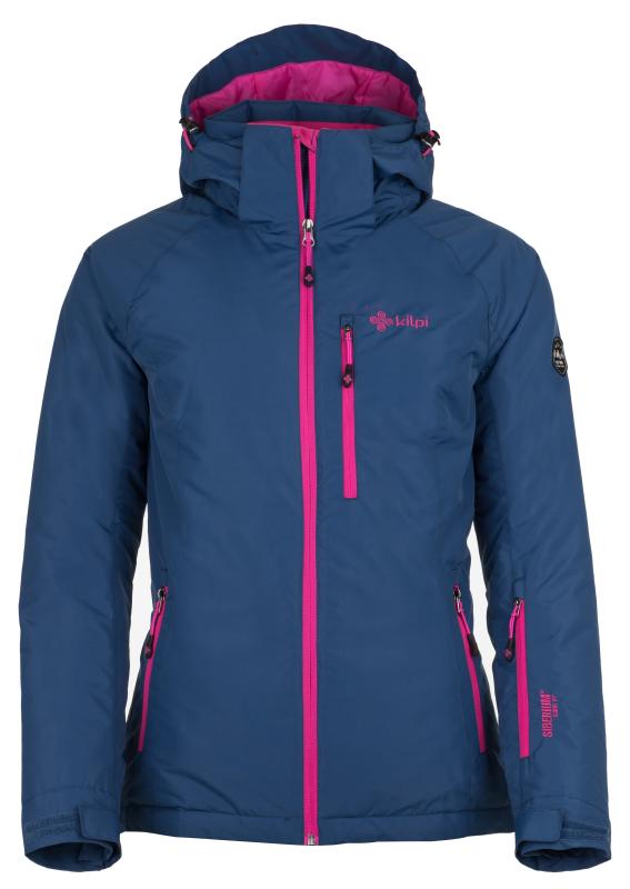 4addfe608402 Dámska lyžiarska bunda KILPI CHIP-W tmavo modrá